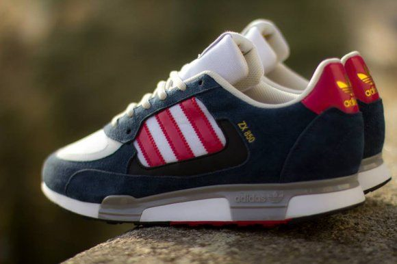 adidas Originals ZX 850 - New Navy/Running White/Red Via: Tenisufki.eu