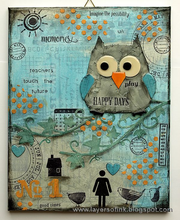 Owl Canvas Tutorial