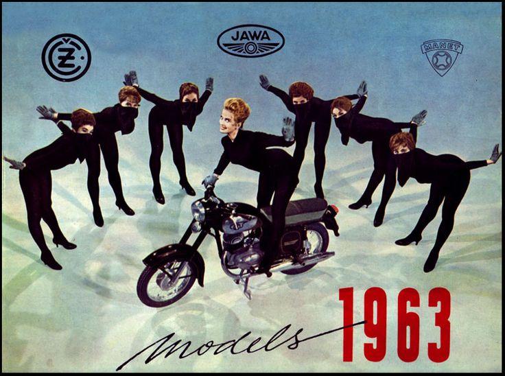 1963 Jawa Motorcycles beatnik dance   Flickr - Photo Sharing!