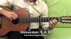 akord valtas gitaregyetem - YouTube