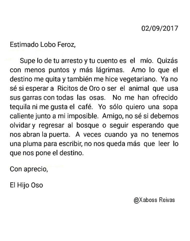 Carta#31   @XabossReivax   #ByXaboss