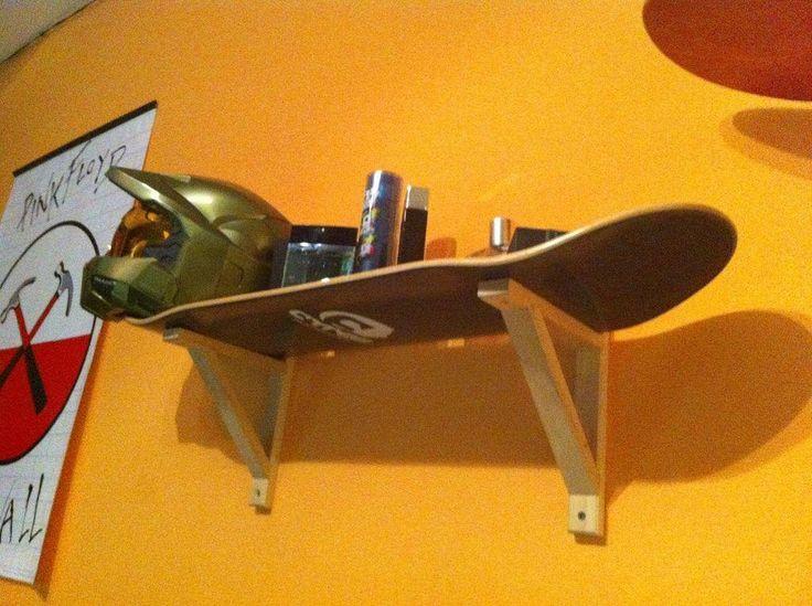 Skateboard Shelf 15 best handcrafted skateboard images on pinterest | skateboards