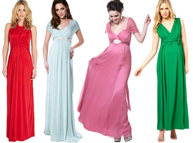 how to style a chiffon maxi dress for a wedding guest | Long and Flowing