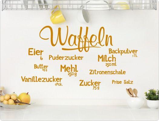 22 best Wandtattoo Küche Kochen, Würzen, Essen! images on - wandtattoo küche guten appetit