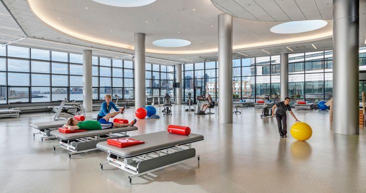 Spaulding Rehabilitation Hospital Architecture Arquitetura Arquitetura Ideias Ideias Design Design Interiores Arch Inclusive Design Hospital Design