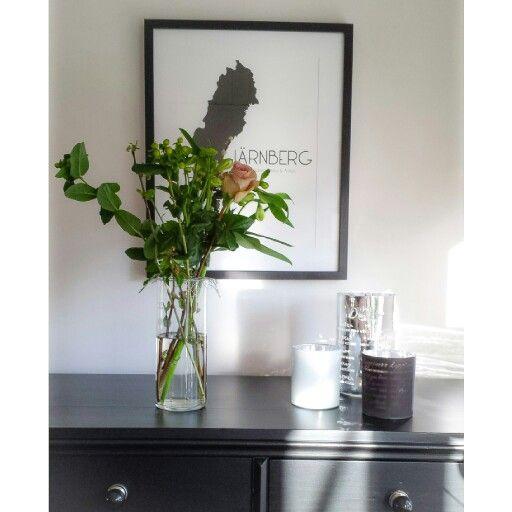 Blommor och lyktor från @Majas Cottage
