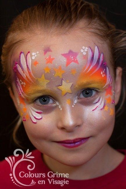 schminken-maskers0049 - Gerepind door www.gezinspiratie.nl #schminkspiratie #schmink #kids