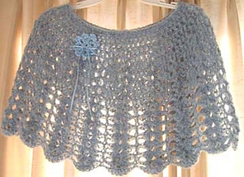 Ravelry: Shortie Shell Capelet free pattern by Kathy North ...