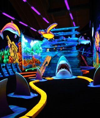 Pirate Island Golf Sea Isle City Nj Underwater Sharks