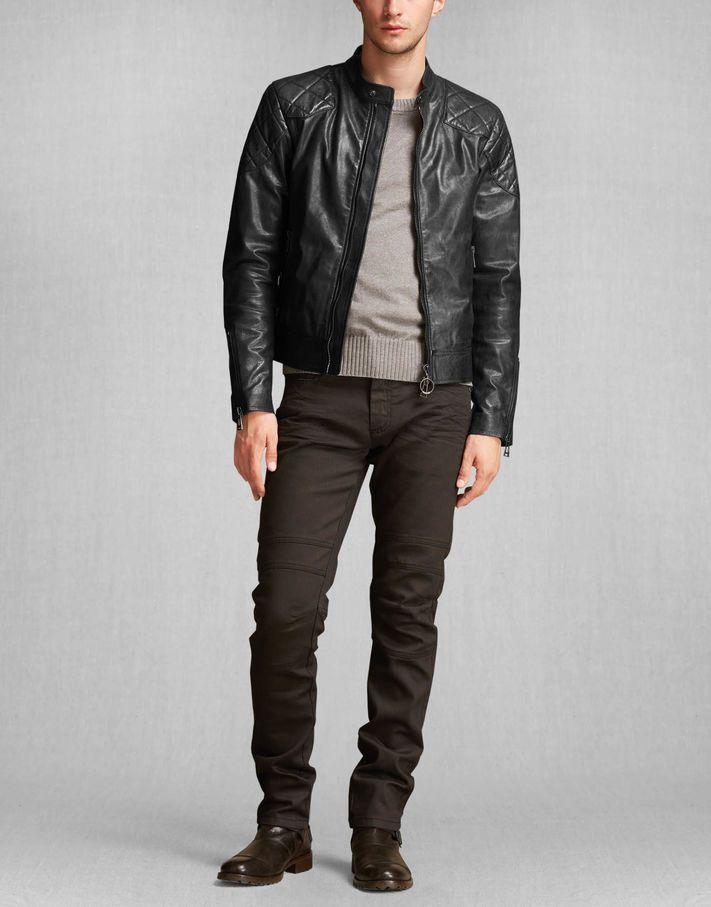 S Style Leather Jacket