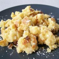 Kaiserschmarrn...German food that is also very yummy as breakfast