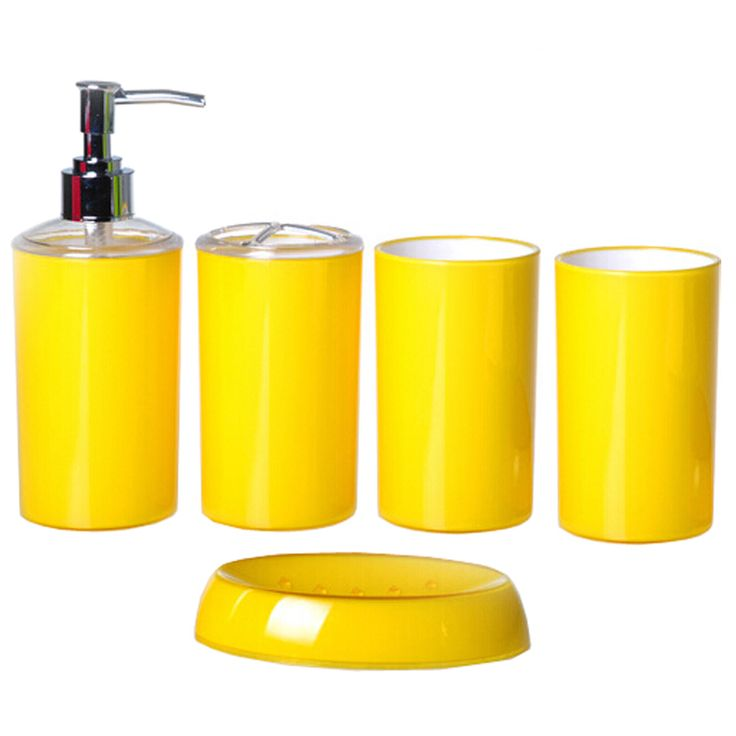 Popular Yellow Bathroom Accessories Buy Cheap Yellow Bathroom .