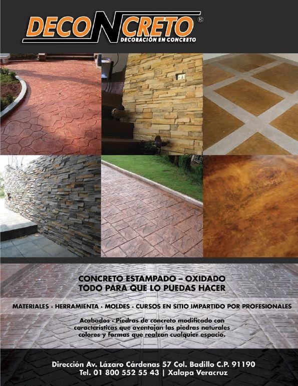 Deconcreto es alta tecnologia en concreto, insumos, colorantes, pigmentos, acidos y herramientas para el concreto