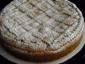 Torta-crostata cioccolato e pere
