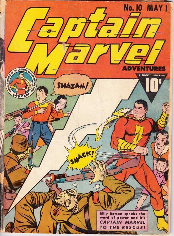 Captain Marvel Adventures #1 Photocopy Comic Book