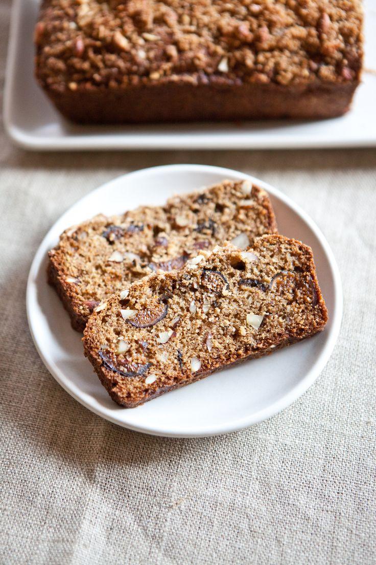 Recipe: Almond-Fig Breakfast Quick Bread — But First, Breakfast!