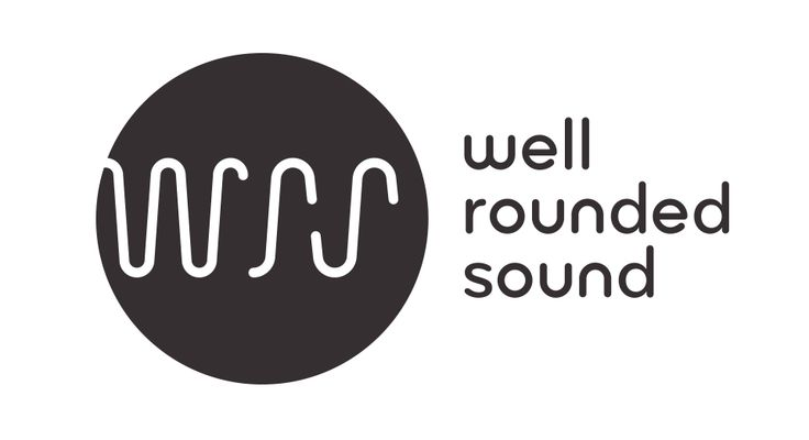 well rounded sound  logo by hinterland studio