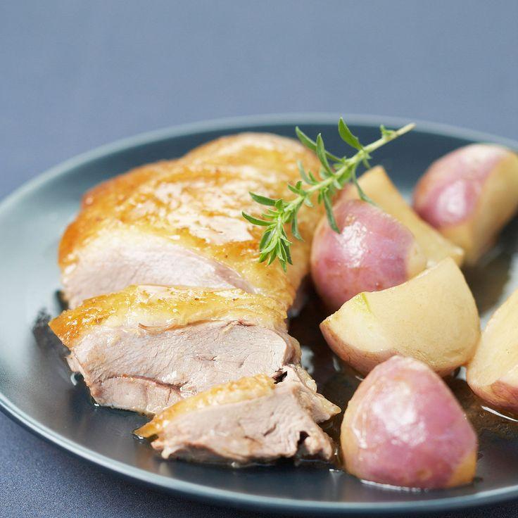 Découvrez la recette Canard aux navets sur cuisineactuelle.fr.