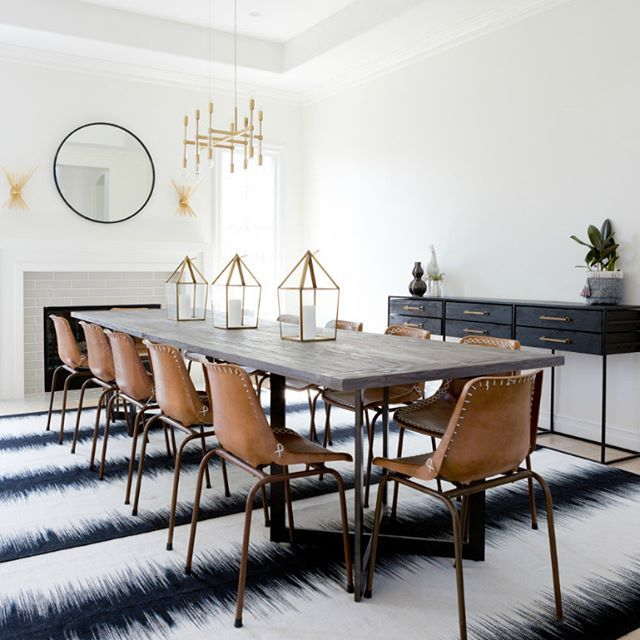 Trendy dining room designs for you! || Feel the wilderness straight from your property and maintain the latest interior design trends || #interiordesign #luxuryfurniture #luxuryroom || Visit to see more: http://homeinspirationideas.net/category/room-inspiration-ideas/dining-room/