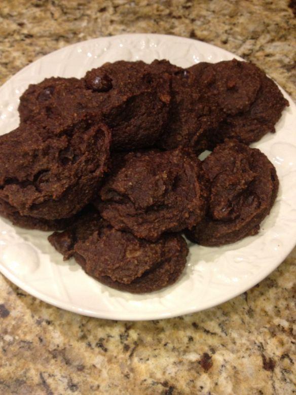 Paleo Double Chocolate Cakies