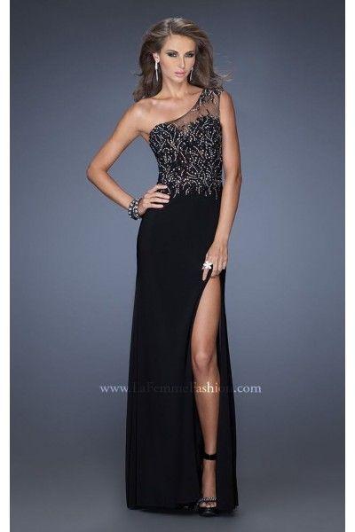 10 besten One-Shoulder La Femme Prom Dresses Bilder auf Pinterest ...