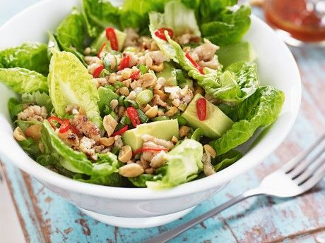Chicken salad - Thai style