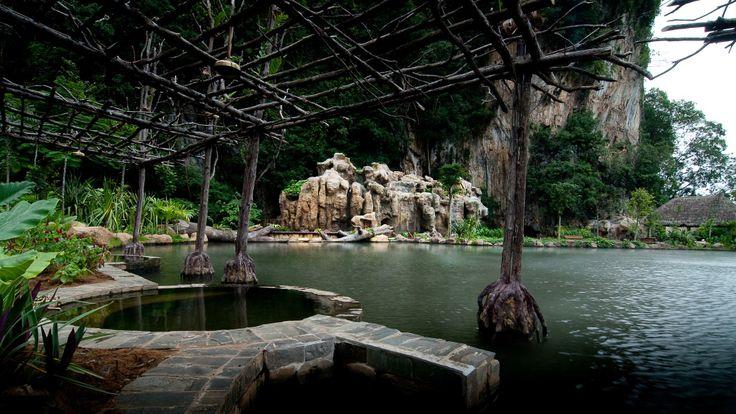 Banjaran Hotsprings Retreat - dipping pools