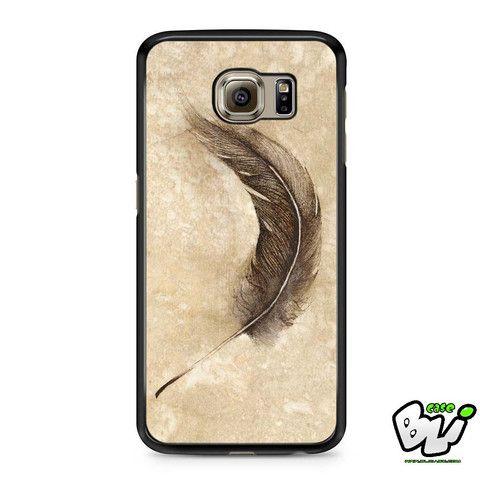 Marble Grainte Feather Samsung Galaxy S7 Case
