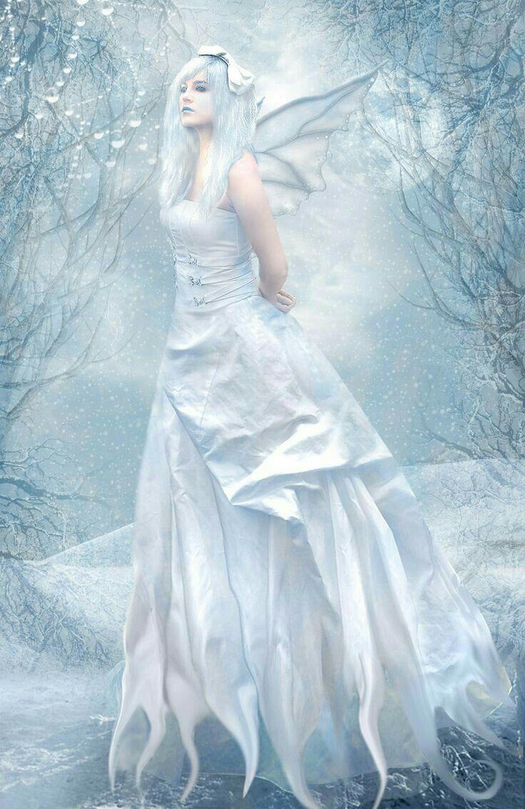 Картинки фей зимних