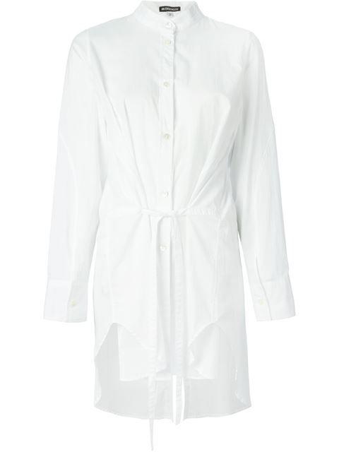Купить Ann Demeulemeester удлинённая рубашка с поясом в Nike - Via Verdi из лучших независимых бутиков мира на farfetch.com. Более 1000 брендов из 300 бутиков на одном сайте.