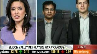 Vicarious Systems Co-Founders on Bloomberg Television