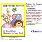 In this interactive smart board lesson, students will learn about the characteristics of a fiction story and to identify characters in a story. ...