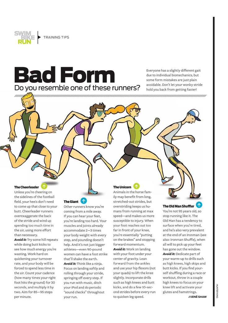 Best Proper Running Form Images On   Running Exercises