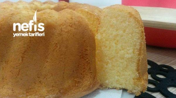 Kremalı Ve Nişastalı Pamuk Kek