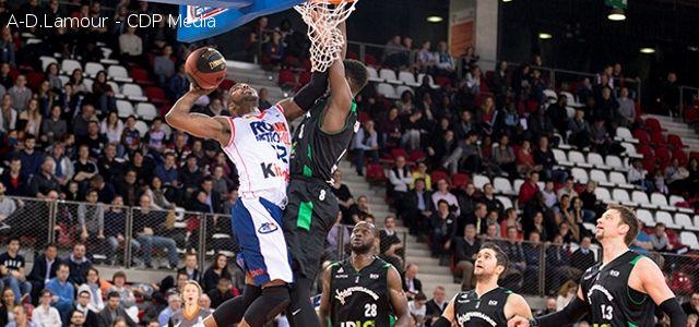 Pro A - ASVEL - Rouen M�tropole Basket - Charles Kahudi