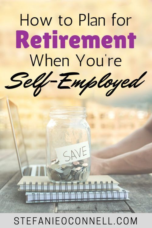 41 percent of millennials have NO access to employer-sponsored retirement plans. See where and how to save for retirement when you're self-employed