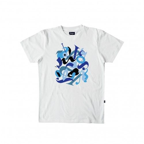 "colette CEIZER x COLETTE T-Shirt ""Abstract Typo"""