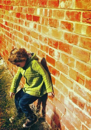 Green Merino jumper