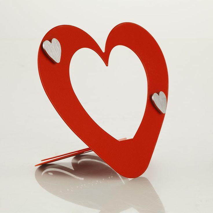 Lovely Portafoto a forma di cuore