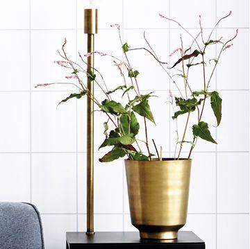 Visa detaljer för Planter Oli Mässing H25cm