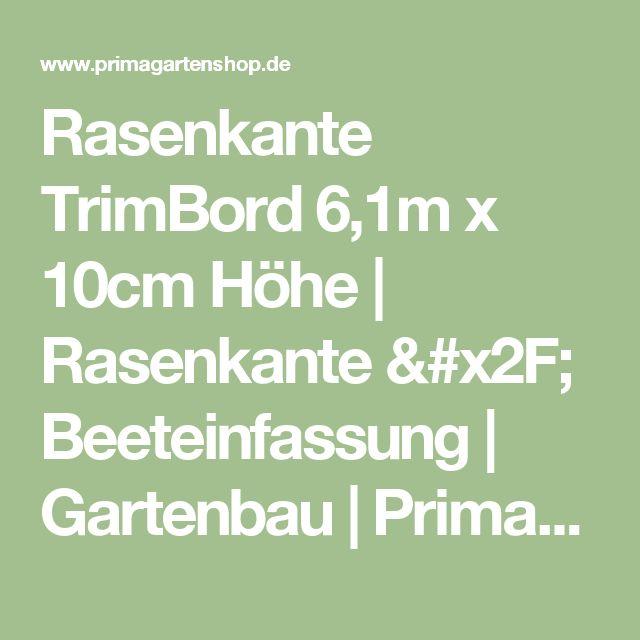 Rasenkante TrimBord 6,1m x 10cm Höhe | Rasenkante / Beeteinfassung | Gartenbau | Primagartenshop.de