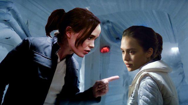 Ellen Page is Han Solo, Jessica Alba is Princess Leia for Jason Reitman's live read · Newswire · The A.V. Club