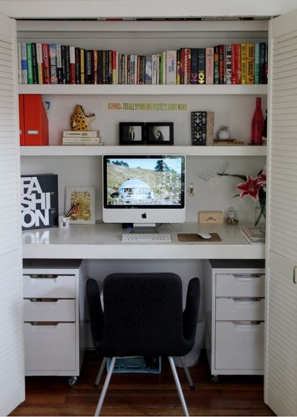 Amazing ClosOffices - Closet Offices!