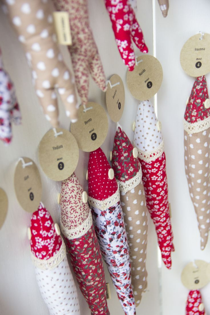 Fabric sardines wedding favor bretagne finist re for Sewing materials