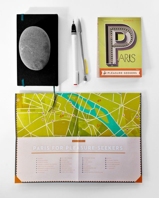 Hey look! Kelli Anderson - Inspiration for colour and map - block colours. spreadondesk