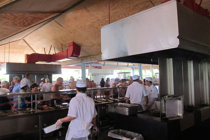 BBQ buffet on Princess Cays Bahamas | Princess Cruises ...