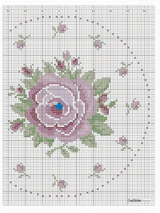 Orologio rosaceo 2