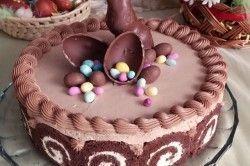 Co chvíli jsou tu Velikonoce, proto nesmíme zapomenout na pečení sladkých dobrot. Připravte exkluzivní čokoládový dort a ozdobte ho na styl Velikonoc.