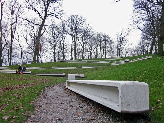 Public benches in Central Drachten