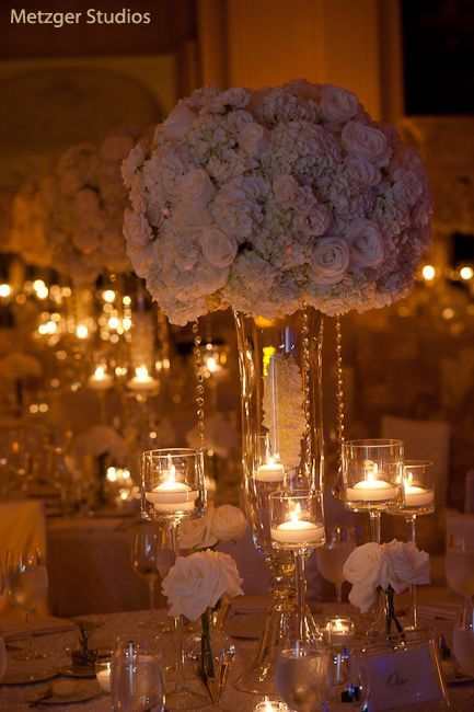 "Wedding Centerpiece 28"" Bell Reversible Vase V3952"